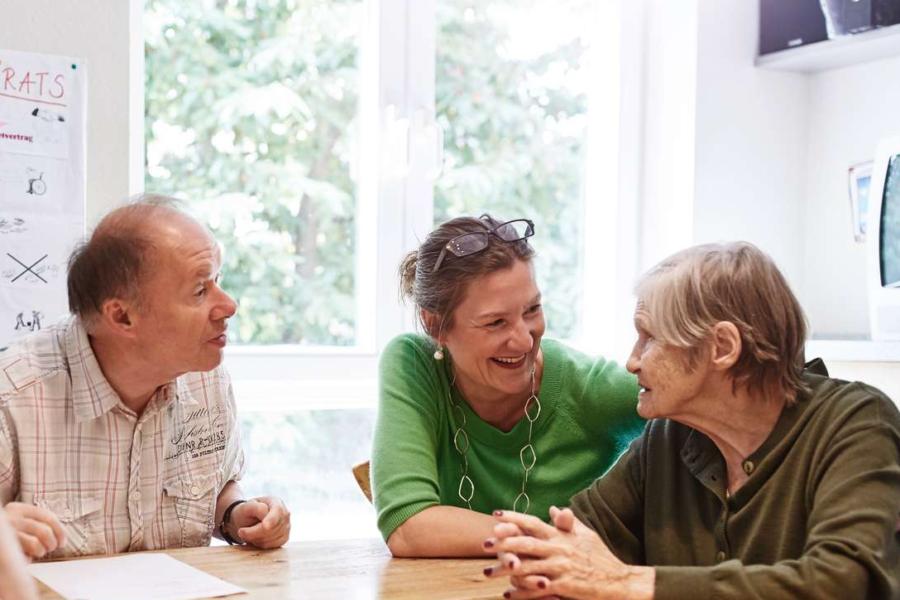 Tagesstätte für Senioren